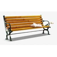 Cheap Anti Corrosion Bamboo Park Bench Easy Cleaning Antique Style With Long Using Life for sale