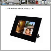 Cheap Cherished Accents Glass Photo Picture Frame Coaster Set for sale