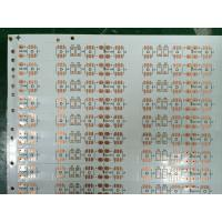 Cheap Flexible LED Strip PCB / Custom LED PCB Assembly with Polyimide Base 0.1 - 0.3mm for sale