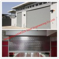 Cheap Fire Prevention Motorized Steel Sliding Doors With American Standard Industrial Folding Door for sale
