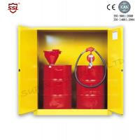 Cheap Steel Hazardous Chemical Drum Corrosive Storage Cabinet 3-point self-latching For Flammable Liquids for sale