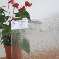 Cheap Clear Tempered Patterned Glass for sale