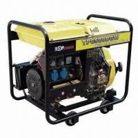 Cheap Diesel Welding Generator with 50Hz Rated Frequency and 3000rpm Rated Revolution Speed for sale