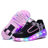 Cheap Multicolors Flashing Led Light up Roller Sneakers Unisex for Kinds wholesale