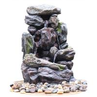 Buy cheap Modern Customize Size Landscaping Rock Outdoor Fountain With Lights from wholesalers