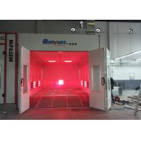 Cheap EPS Wall Infrared Spray Booth Auto Paint Room color Optional Eco Friendly for sale