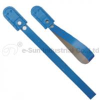 Cheap Plated Tin Strip Trailer Security Seals / Door Seals / Truck Seals With 50kgs Pull Load for sale