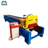 Cheap Color Steel Plate Aluminium Glazing Roofing Tile Forming Machine 18 Rows for sale