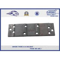 Quality Rail Fasteners Railroad Tie Plates Oxide Black  Guide Plate Casting Technology wholesale
