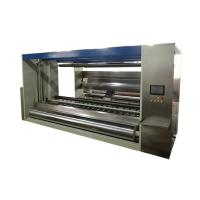 The cutting and rewinding non-woven machine