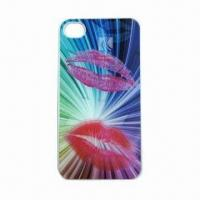 Cheap 3D Case for iPhone, Customized Colors and Logos are Accepted for sale