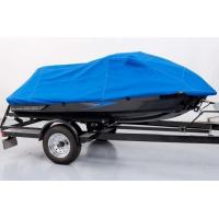 Cheap 10M * 4M UV Resistant Blue Color Polyester Boat Cover Heat Resistant Tarp for sale