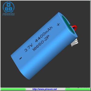 Cheap Li-ion battery 18650 3.7V 4400mAh for flashlight for sale