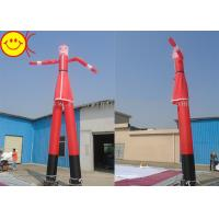 Cheap 7m Huge Inflatable Santa Air Dancer Nylon Reinforced Stitching For Festival for sale
