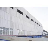 Buy cheap Concrete AAC Slab Panel Plant Lightweight Wall Panel Machine 380kw - 450kw Light weight and high strength from wholesalers