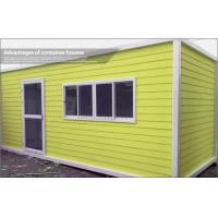 Cheap Expandable Prefab Container House with Steel Sheet Roof and EPS Sandwich Wall 50mm for sale