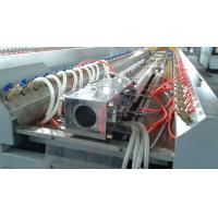 Cheap Windows Doors PVC Profile Extrusion Machine , Double Screw Extruder wholesale