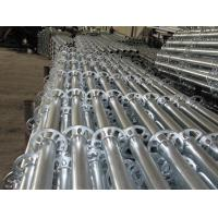 Cheap Ringlock  Scaffold Standard with hot-dip galvanized  For Outdoor Repairing wholesale