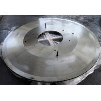 Hollow ground hot cutting circular saw blade for cutting hot rolled H beam