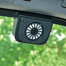 Cheap Recommend top  input power 5W Diameter fan blade 200mm solar auto vent for sale