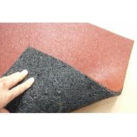 Quality Surface Staining Rubber Flooring Tile 500*500mm wholesale