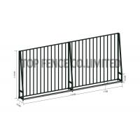 Quality 2400 mm Wide * 2100 mm steel hercules fence high security wholesale