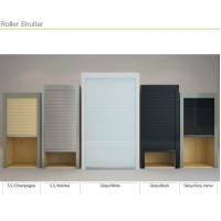 Cheap Kitchen PVC/ Glass Roller Shutter Rollup Sliding Door for Cabinets for sale
