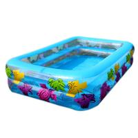 China Entertaiment Pvc Family Inflatable Swimming Pools Durable With Silk Print on sale
