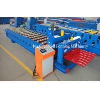 Cheap Great Building Material Aluminum Roof Glazed Tile Roll Forming Machine for sale
