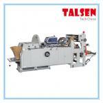 JDM-601 model V bottom paper bag making machine with plastic film window