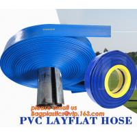 China PVC farm irrigation agricultural Water Layflat Hose Agriculture Pump Industry Irrigation on sale