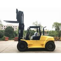 Cheap 10 Ton Capacity Industrial Forklift Truck , FD100 Counterbalance Reach Truck for sale