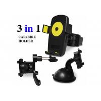 Cheap 3 In 1 Sets Multi-Function Universal Car Bike Holder For iPhone Samsung for sale