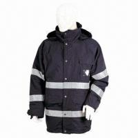 Cheap 228T Nylon Taslon-coated PU Waterproof and Breathable Coat for sale