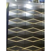 Cheap Light Weight 3D Cladding Panels With Or Without Perforated ACP / Aluminum Composite Panel for sale