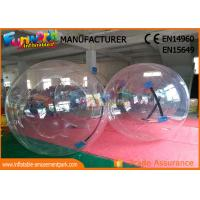 Cheap 100% Air Sealed Inflatable Water Walking Ball / Inflatable Water Roller for sale