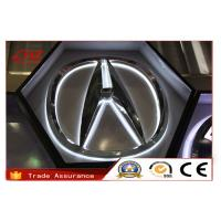 Buy cheap Custom Front Lit 3D Car Logos Auto Badges Waterproof With LED Light from Wholesalers