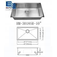 Cheap 304 Stainless Steel Undermount Sink Single Bowl wholesale