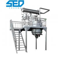China Chinese Herbal Extraction Equipment Automatic For Solvent Recovery Production on sale