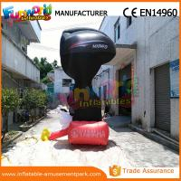 Cheap 4m Height Advertising Inflatables Yamaha Shape Red and Black wholesale
