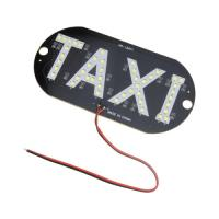 Cheap SMD 3528 LED Lighting PCB Board 5W 6000K For Vehicle Light Taxi Logo Sign Mark for sale