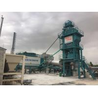 Cheap Variable Frequency Feeding Belt Mobile Asphalt Batch Mixing Plant 120 Ton Output Mobile for sale