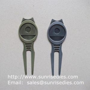 Golfer Divot tools for repairing pitch mark, Wholesale Metal Golf Divot repair tools