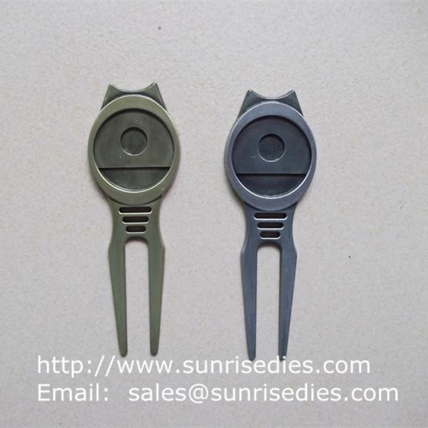 Quality Golfer Divot tools for repairing pitch mark, Wholesale Metal Golf Divot repair tools wholesale