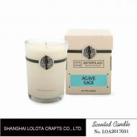 Cheap Southern Belle / Raspberry Fragrance Natural Scented Candle Chemical Free , Eliminating Odors for sale