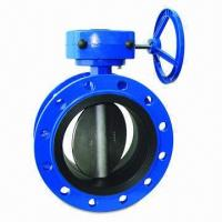 Cheap Butterfly Valve, Fusion Bonded Epoxy Coating with 250-micron Minimum Thickness  for sale