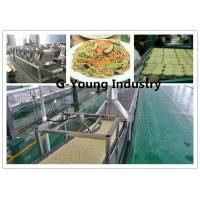 Buy cheap Instant Noodle Making Machinery With Big Capacity fried noodle production lines from wholesalers