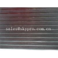 Cheap Smooth / embossed Surface heavy duty Rubber Sheet Roll , 2.5mm-20mm Thickness for sale