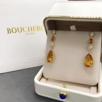 Cheap 18K Yellow Gold  Serpent Boheme Earrings With Topaz Crystals And Diamonds for sale