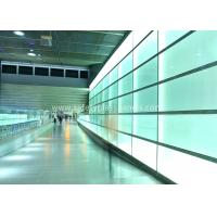 Cheap Building Skylight Clear Laminated Safety Glass 3mm to 19mm , Tinted Tempered Glass Walls wholesale